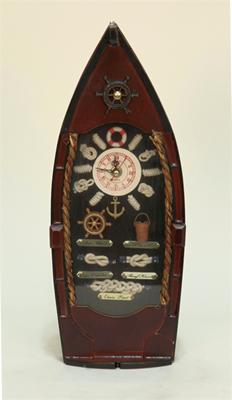"""Изображение настенные часы """"Лодка"""""""