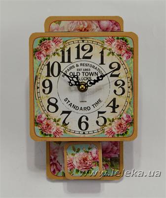 """Изображение настенные часы с маятником """"Old Town Clocks"""""""