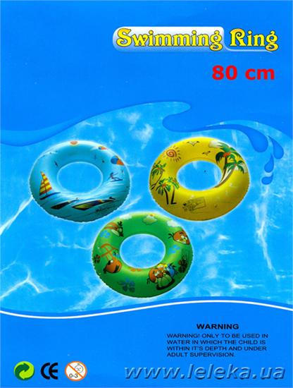 Изображение детский надувной круг 80 см