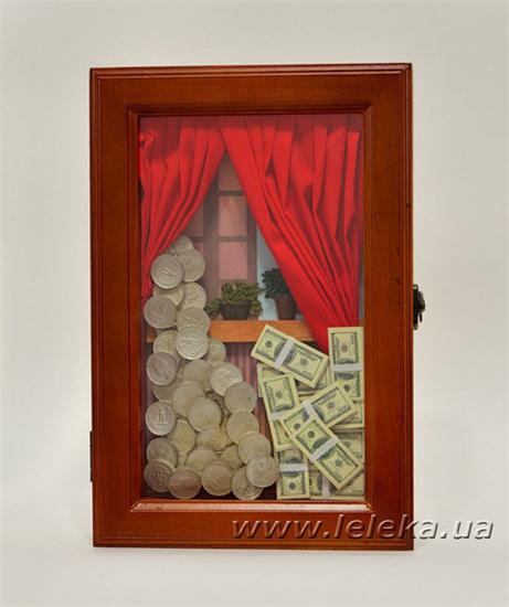 """Изображение Ключница """"Деньги"""""""