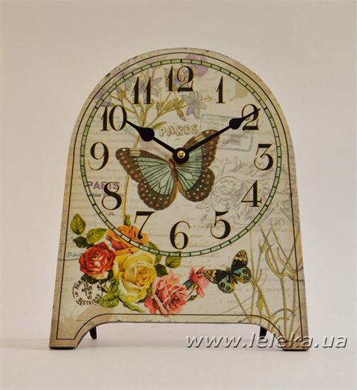 """Изображение настольные часы """"Butterfly"""""""