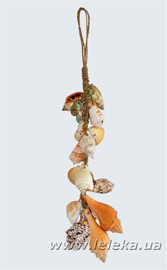 Изображение ракушки на вязке