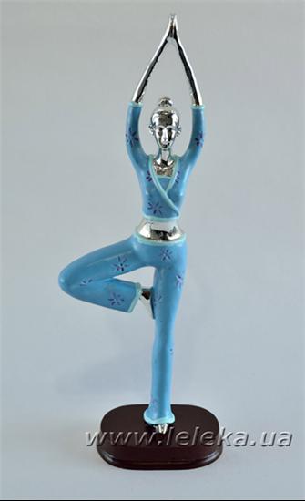 Изображение статуэтка девушки йоги
