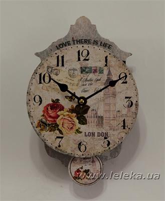"""Изображение настенные часы с маятником """"Big Ben"""""""