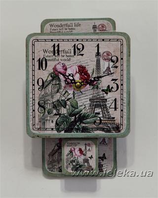 """Изображение настенные часы с маятником """"Wonderfull Life"""""""
