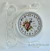 """Изображение уличные металлические часы """"Bouquet"""""""