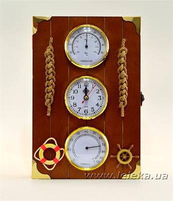 Изображение Ключница часы, метеоприборы