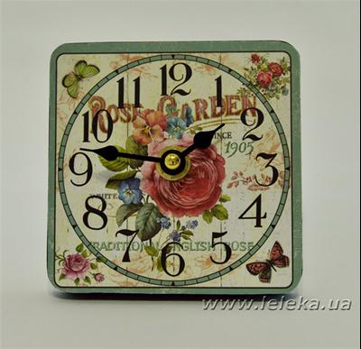 """Изображение настольные часы """"Rose Garden"""""""