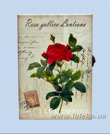 """Изображение Ключница прованс """"Rose"""""""