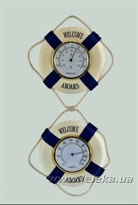 Изображение спасательные круги - термометр и гигрометр