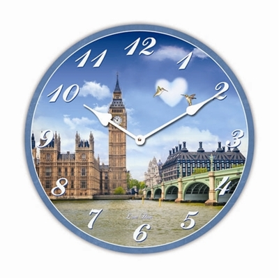 """Изображение настенные часы """"Big Ben"""""""
