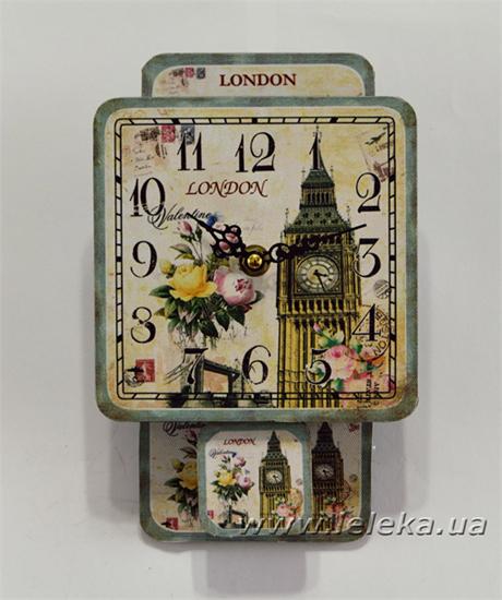 """Изображение настенные часы с маятником """"London"""""""