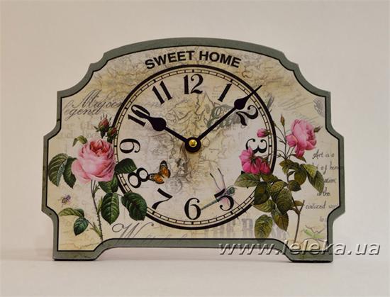 """Изображение настольные часы """"Sweet Home"""""""