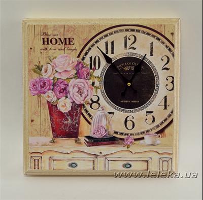 """Изображение настенные часы """"Rose"""""""
