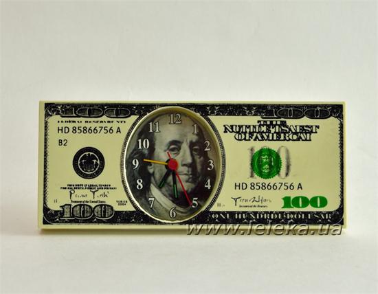 """Изображение часы будильник """"Dollars"""""""