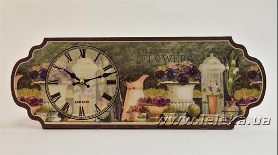 """Изображение настольные часы """"Flowers"""""""