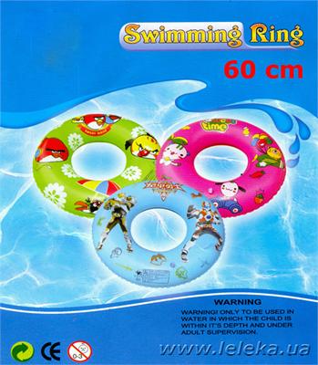 Изображение детский надувной круг 60 см