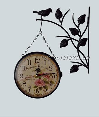 Изображение уличные металлические часы
