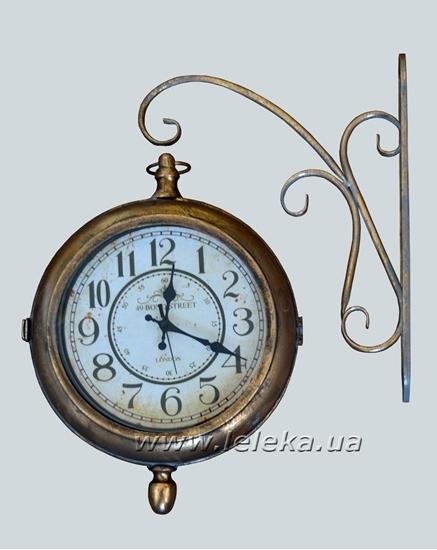 """Изображение уличные металлические часы """"London"""""""