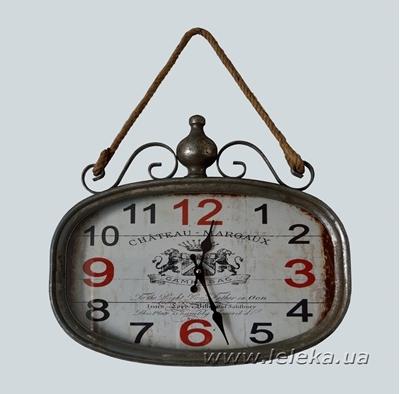 Изображение настенные металлические часы