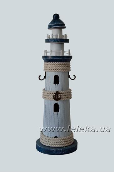 Настольный декор, маяк 40 см, морской стиль
